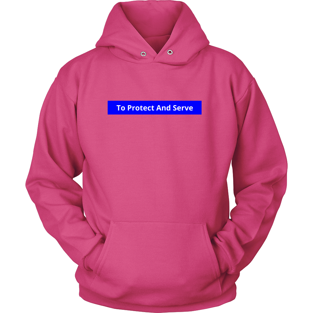 To Protect and Serve Police Sweatshirt/Hoodie