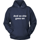 Women Empowerment Sweatshirt/Hoodie (White Text)