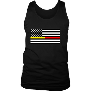 Red Line Gold Line Flag Tanks (Men/Women)