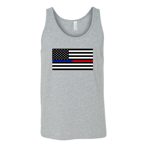 Blue Line Red Line Tanks