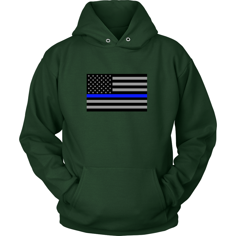 Blue Line Flag Sweatshirt/Hoodie | Code 9 Project