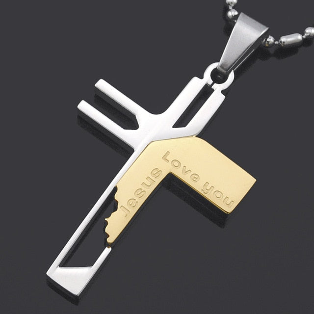 Jesus Loves You Necklace