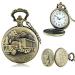 Truck Driver Pocket Watch