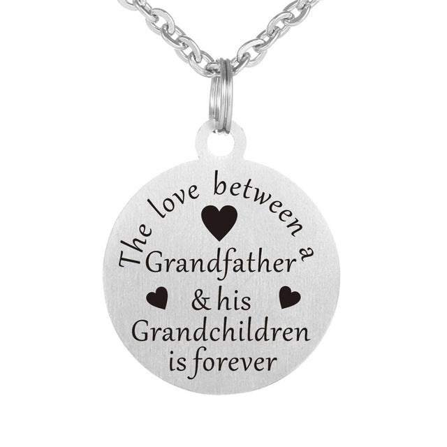 Grandfather Love Forever Necklace