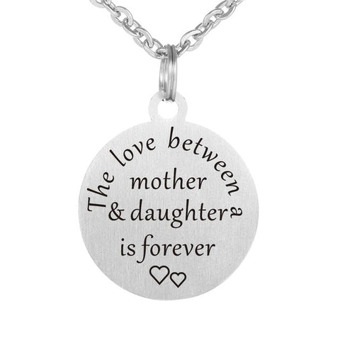 Mother/Daughter Love Forever Necklace