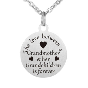Grandmother Love Forever Necklace