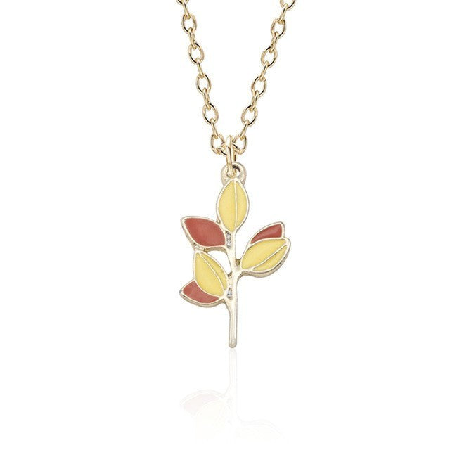 Cute Leaves Necklace