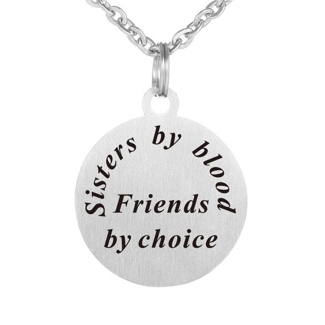 Sisters by Blood Necklace