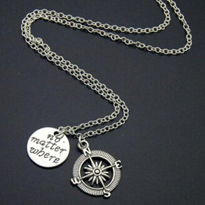 Various Travellers Pendant Necklace