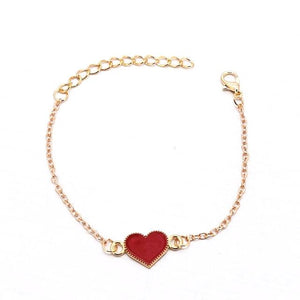 Heart HIV Awareness Bracelet