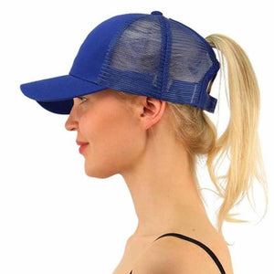 Ponytail Trucker Hat