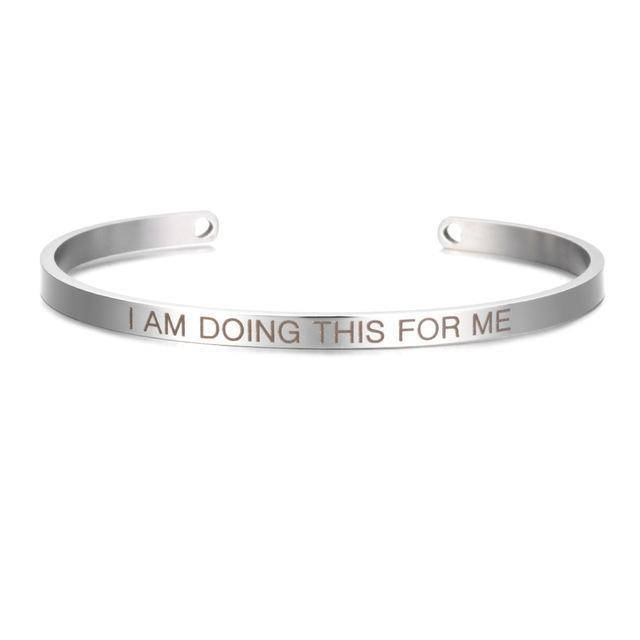 Inspirational Quotes Bangles