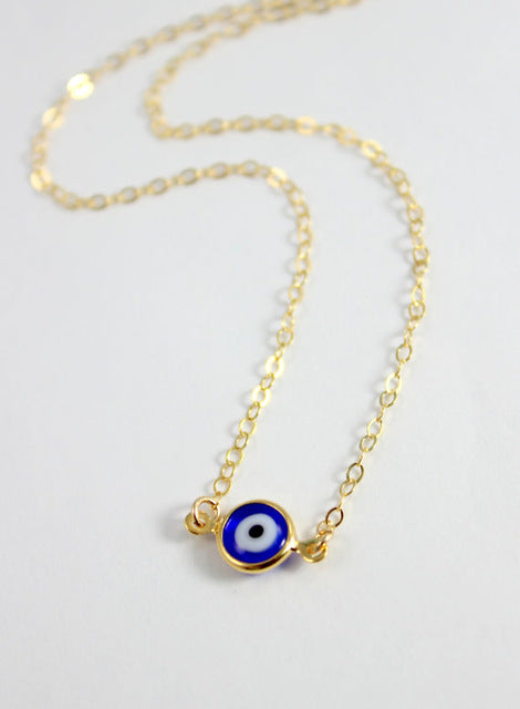 Hurricane Eye Link Necklace