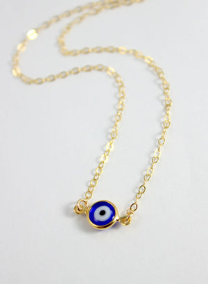 Truck Driver Gold Link Necklace