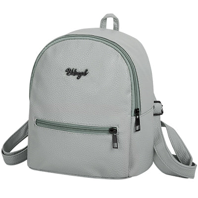 Girls Leather Backpack