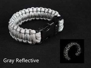 Gray Paracord Bracelet