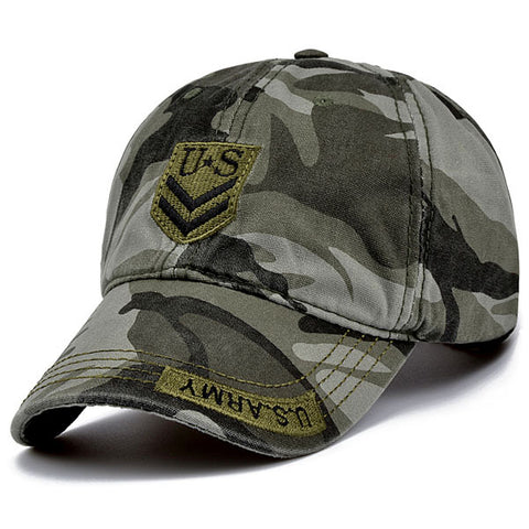 US Army Camo Baseball Hat