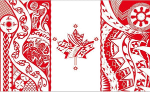 Canadian Camouflage Flag
