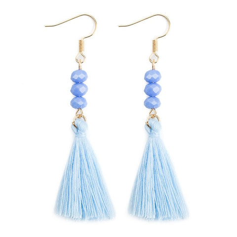 Eating Disorder Awareness Tassel Earrings