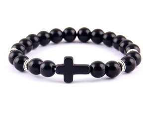 Cross Bead Bracelet