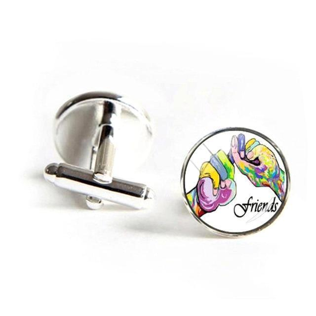 ASL Friends Cufflinks