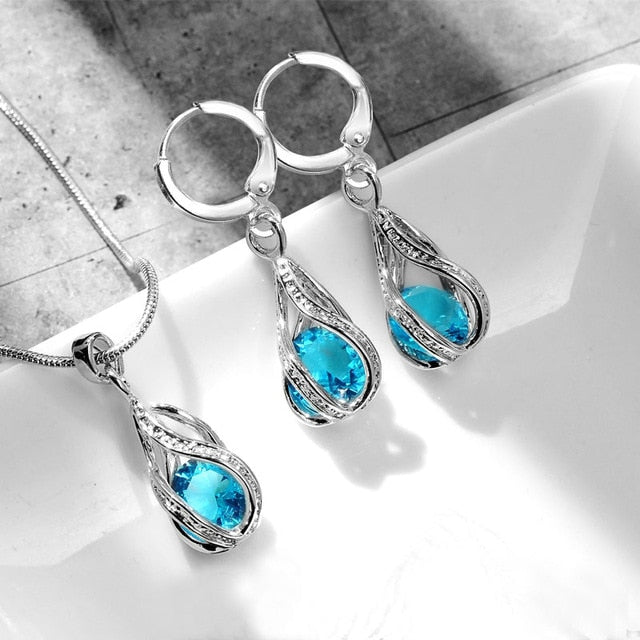 Air Force Teardrop Jewelry Set
