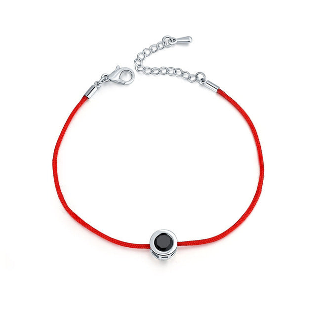 Firefighter Awareness Red Line Thread Bracelet