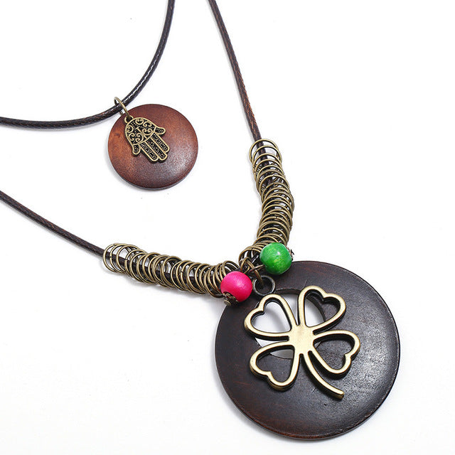 Leprechaun Boho Necklace