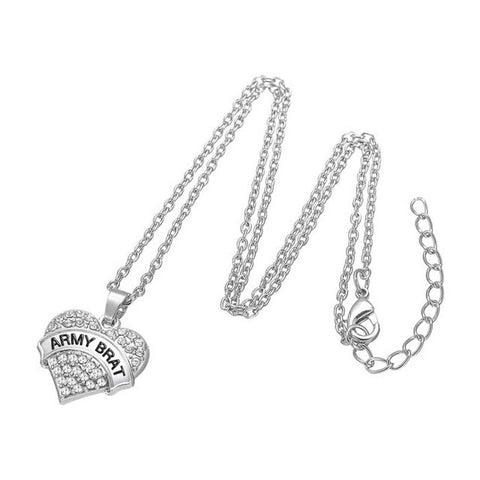 Army Support Necklace - 12 Designs