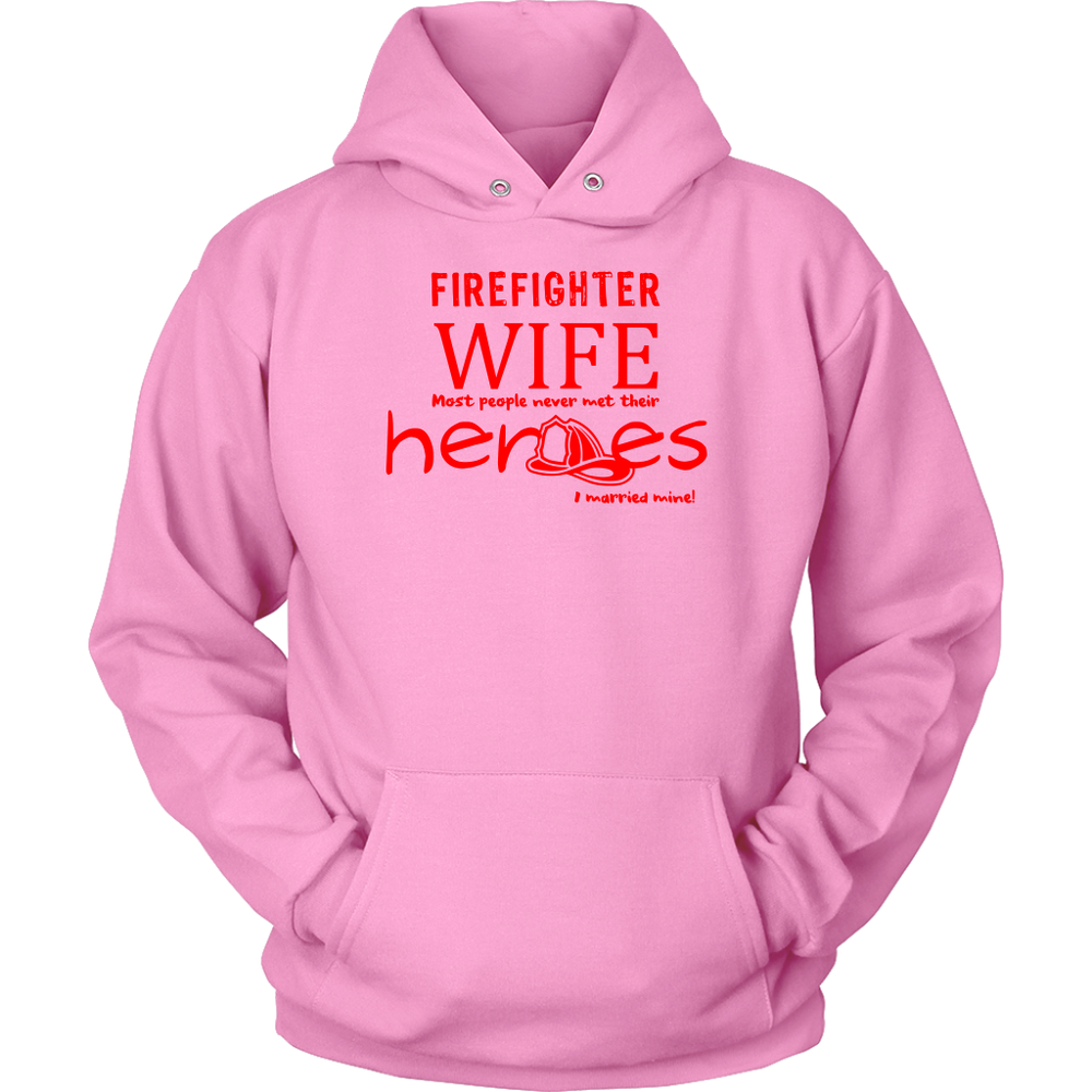 Married My Firefighter Hero Hoodie
