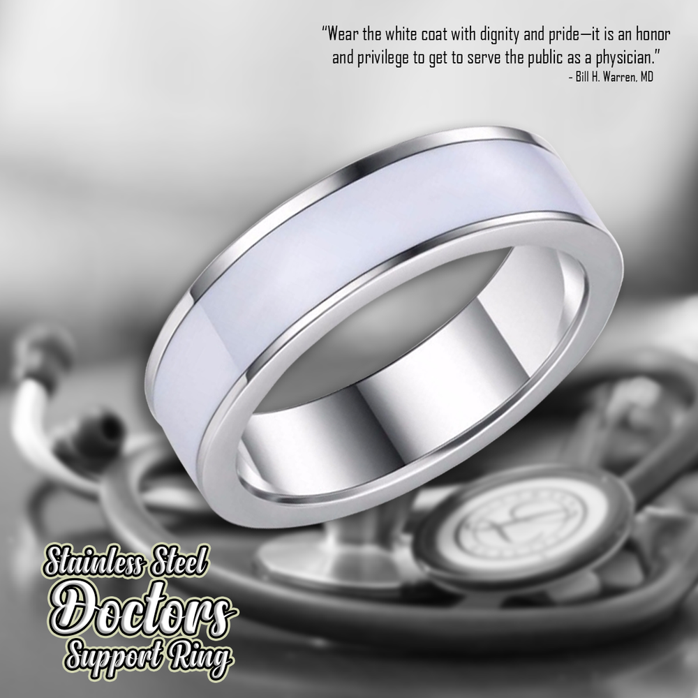 Stainless Steel Doctors Support Ring