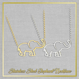 Stainless Steel Elephant Necklace Offer