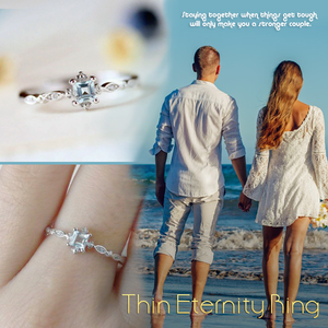 Thin Eternity Ring