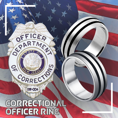 Correctional Officer Ring