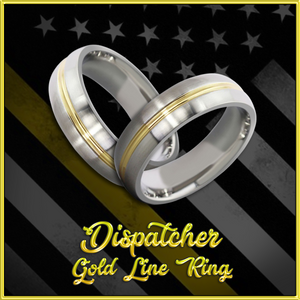 Dispatcher Gold Line Ring