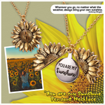 """You are my Sunshine"" Pendant Necklace"