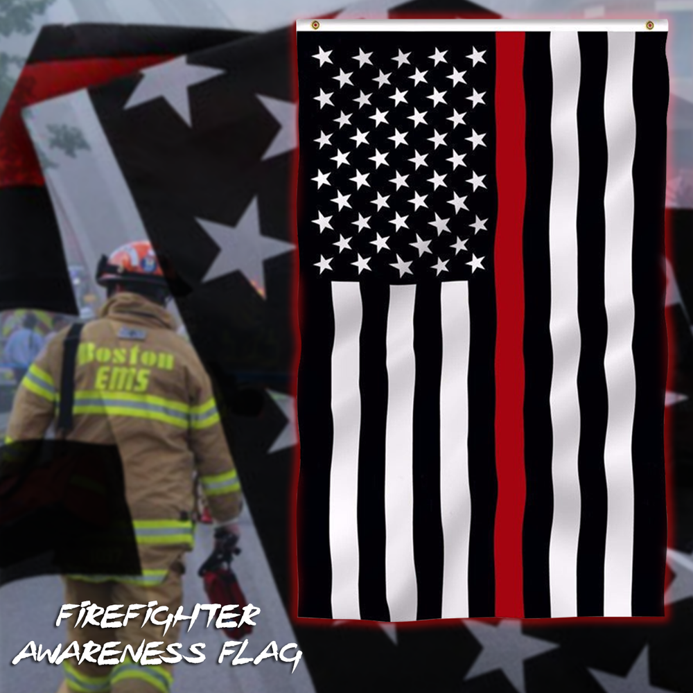 Firefighter Awareness Flag