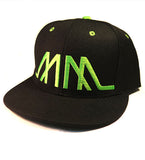Embroidered MM Snapback - Assorted Colours