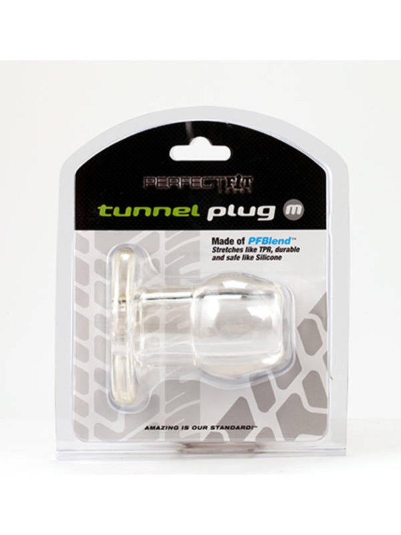 Tunnel Plug - Medium Clear