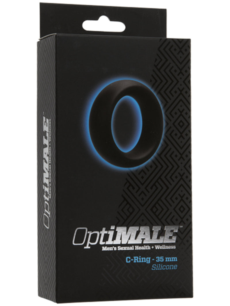 OptiMALE C Ring 35mm Thick Black