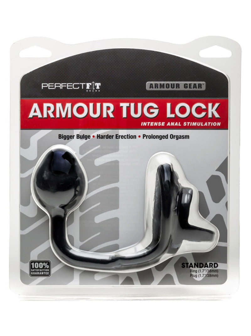 Armour Tug Lock Black