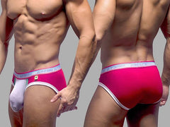 GIGOLO HOLIDAY BRIEF (RED & WHITE)