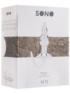 SONO NO. 11 Butt Plug 6 Inch Transparent