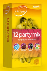 LifeStyles Healthcare Party Mix 12pk Condoms