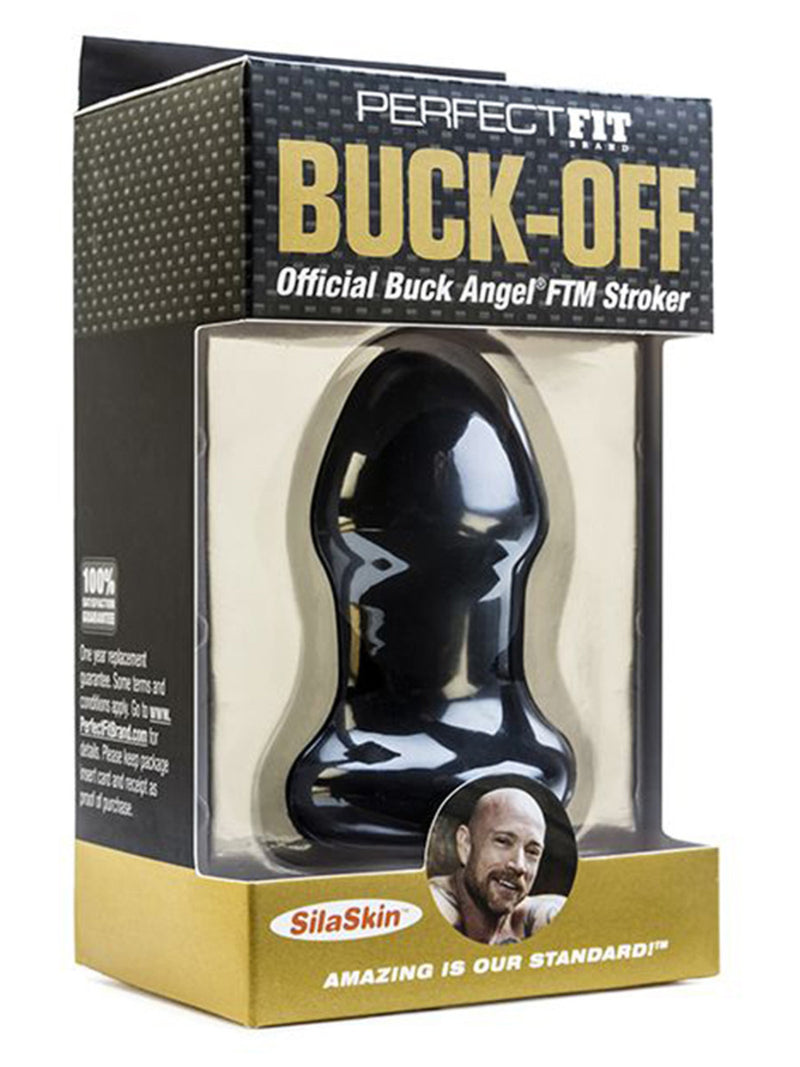 Buck Off - Buck Angel FTM Stroker Black