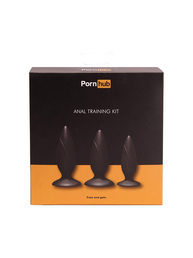 Pornhub Anal Training Kit Black