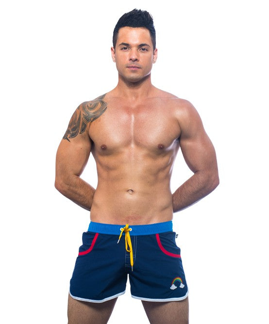 Rainbow Pride Swim Shorts