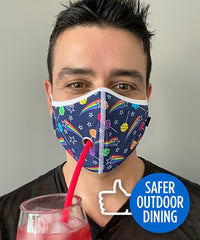 Andrew Christian Safe Dining Lollipop Mask