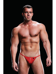 Envy Low-Rise G-String Red-L/XL