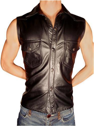 Shirt - Sleeveless (Leather)